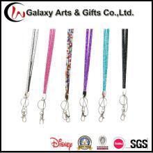 Promotion Gifts Black Rhinestone Key Lanyard Fashion