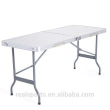 Mesa plegable de aluminio de Niceway Gran cantidad de lotes grandes de 8 pies de mesa plegable