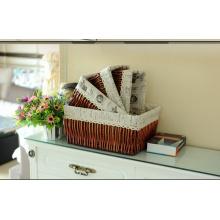 Корзина ручной работы из плетеной корзины с экологически чистыми продуктами (BC-ST1002)