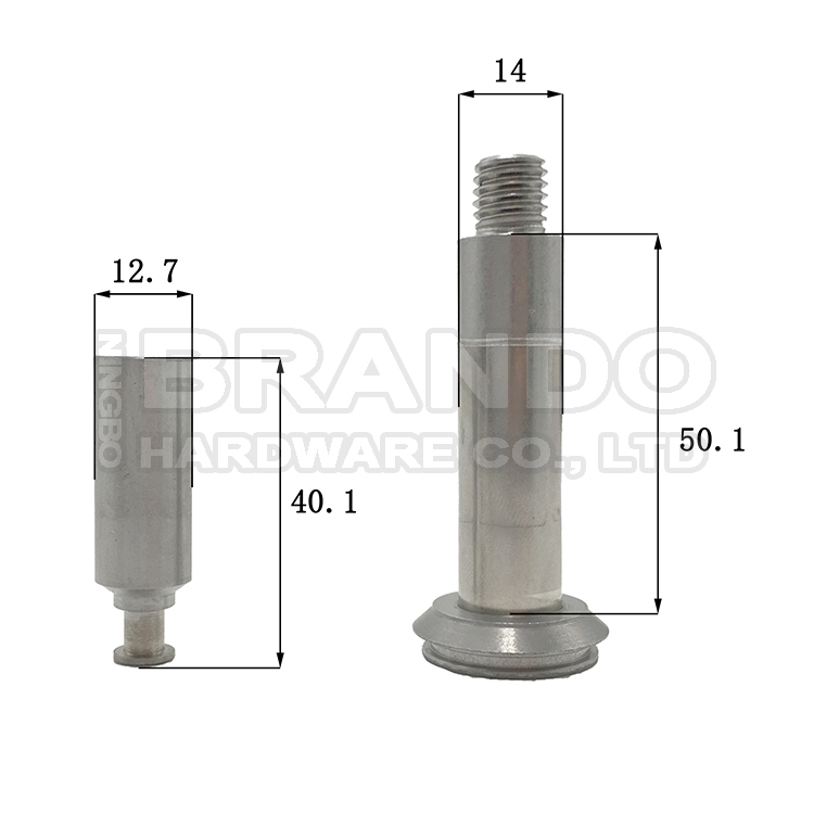 Dimension of BAPC214050055 Armature Assembly: