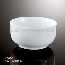 best-selling hotel&restaurant white ceramic bowl wholesale