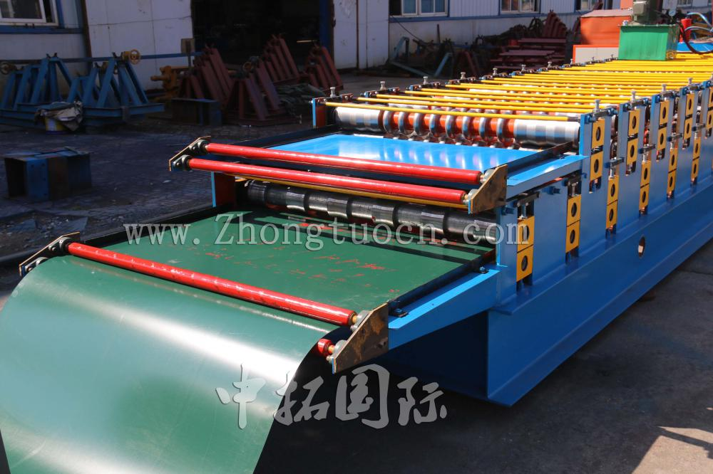 Double Layer Roll Forming machine (8)