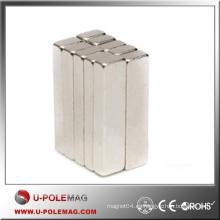 Imán caliente del bloque de los imanes de la venta NdFeB / bloque del imán del neodimio N42 / F100X50X20m m Bloque NdFeB Supplier China