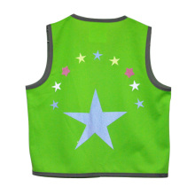 Fashionable Cycling Vests for Kids with Reflective Stars