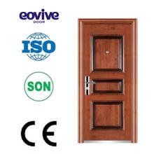 Puerta de entrada principal acero Europa seguridad puerta de acero