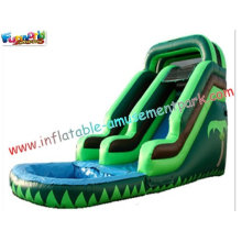 Kids Play Toys Big Commercial Outdoor Inflatable Backyard Water Parks Slides For Re-sale