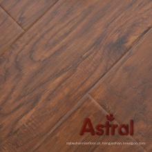 Textura de madeira real registrada (sulco grande de U) revestimento laminado (AY7015)