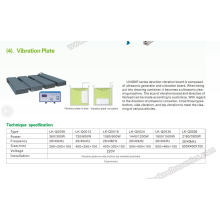 Placa de vibración ultrasónica