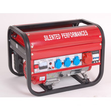 New Model Square Frame Three Phase Recoil Start Gasoline Generator