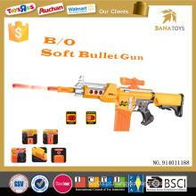 Ao ar livre miúdos soft arma bala brinquedo segurança ar macio bbs arma