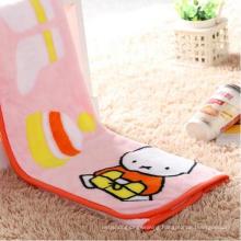 High Quality Printed Fannel Infantil Minky Blanket