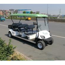 custom battery powered golf carts with cargo box