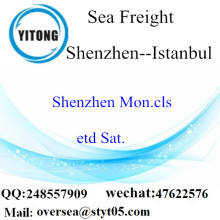 Shenzhen Port LCL Consolidation naar Istanbul