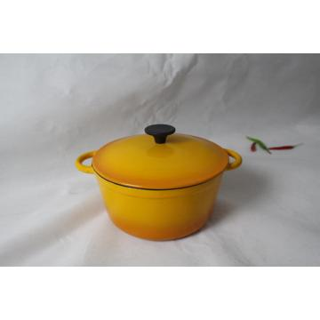 Cast iron camping cookware