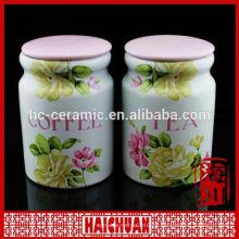 Tarros de galletas de cerámica