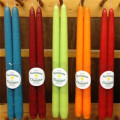 colorful beeswax Candles handmade 100% natural beeswax