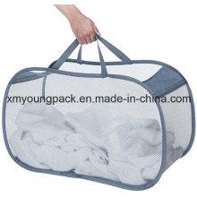 Mode Pop und Faltbare Mesh Collapsible Wäschekorb