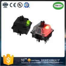 Interrupteur à clavier Interrupteur à bouton-poussoir étanche 12 volts (FBELE)