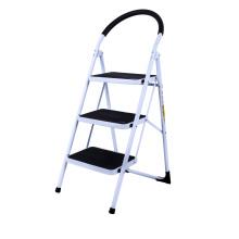 3 step Household steps steel ladder