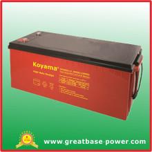 Batería de alta tasa de alimentación 12V 230ah