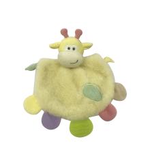 Brinquedos de bebê de toalha de leão amarelo