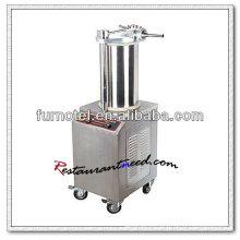 Máquina de enchimento rápido de salsicha F167 de aço inoxidável