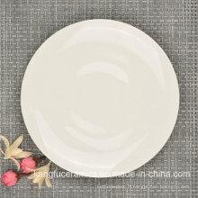 Assiette à dîner Bone China de haute qualité