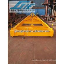40feet Espalhadores de contentores Semi-automáticos de baixa altura, espalhador mecânico para material a granel