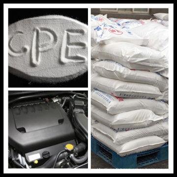 Polyéthylène chloré (CPE135A) pour additifs ignifuges dans un composé ABS