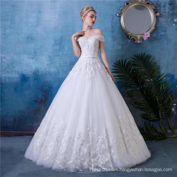 Floor length Wedding Dress Bridal Gown HA553
