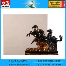 Vidro flutuante Dark Bronze de 3 a 12 mm com AS / NZS 2208