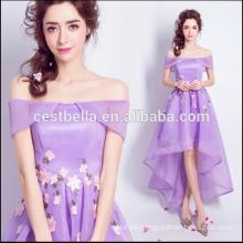 2017 Mujeres Verano Vestidos de fiesta púrpuras atractivos Vintage estilo retro damas púrpura dulce vestido de cóctel