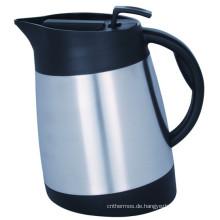 304 Edelstahl Doppelwand Vakuum Kaffeekanne Europa Stil