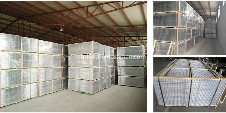 welded mesh panel packing