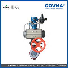 Butterfly Valve with Pneumatic Actuator with Positioner