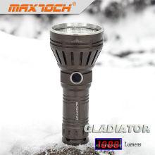 Maxtoch GLADIATOR 26650 batería linterna Cree LED antorcha