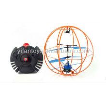 2013 novo e quente 3ch infravermelho rc 360 graus de rotação voando bola