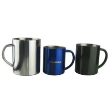 450ML Stainless Steel Mug With Stainless Steel Handle