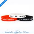China Wholesale preiswertes Silikon-Armband oder Wristband mit kundengebundenem Firmenzeichen