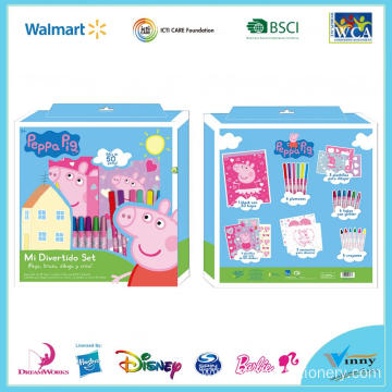 Peppa Pig Painting Creative Set