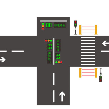 crossing road safety pedestrian led traffic light project