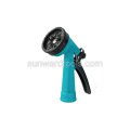 Multi-pattern plastic spray gun