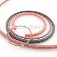 Caucho de fábrica cubierto anillo de viton oring cubierto por teflón PTFE cubierta o anillos redondos