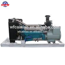 Китайский завод с турбинным двигателем переменного тока три фазы водяным охлаждением 6-цилиндровый 4-тактный 125kva генератор r6105izld