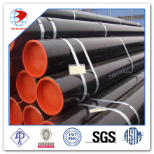 A500 welded round structural steel tubing