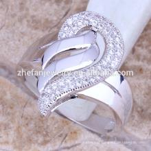 anéis de cobra de jóias ucraniano em forma de anel de pedra grande projeta cor prata