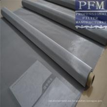 aisi 304 316 18-50micron malla de alambre de acero inoxidable para la impresión, filtro, tamiz, puerta y ventana de la pantalla