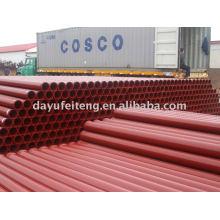 DN125 * 3000mm * 4.5mm Betonpumpenrohr