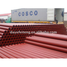 DN125*3000mm*4.5mm concrete pump pipe
