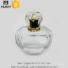 Frasco de perfume de vidro da bomba de pulverizador 70ml de vidro